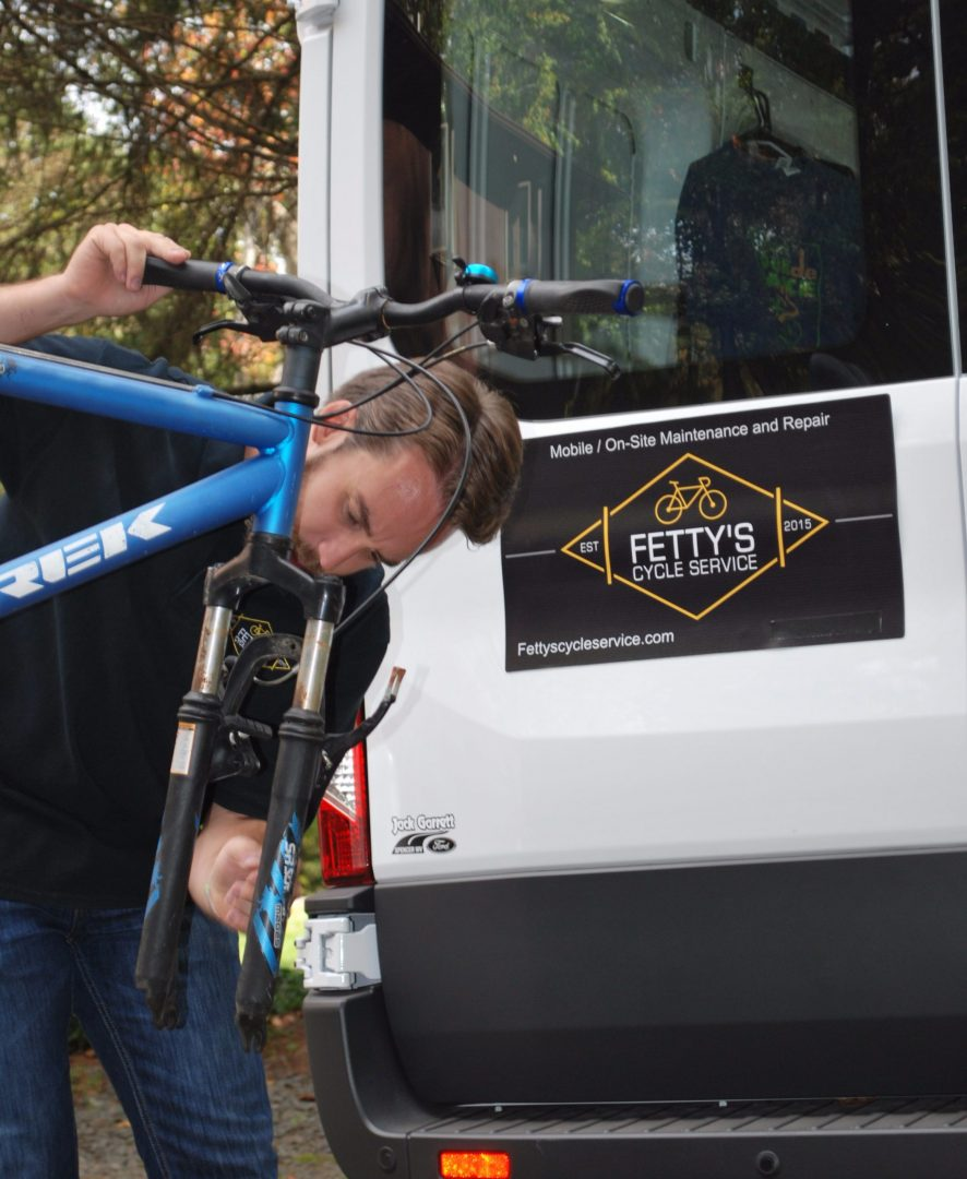Mobile Bicycle Shop repair and service at your doorstep
